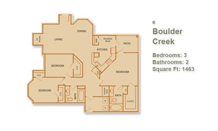 E - Boulder Creek