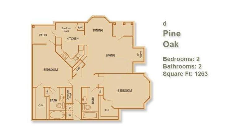 D - Pine Oak