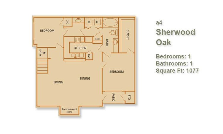 A4 - Sherwood Oak