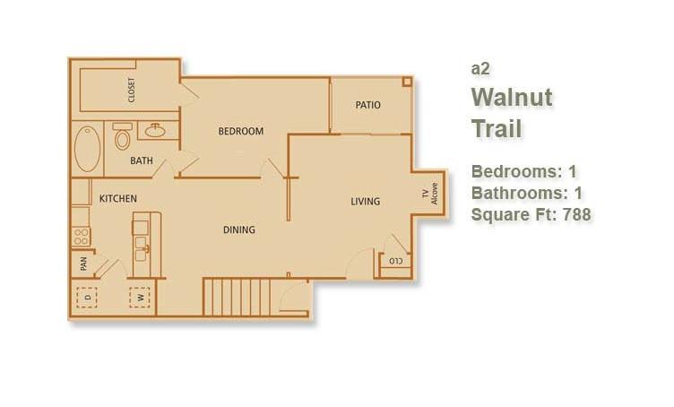 A2 - Walnut Trail